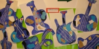 Picasso abstract guitars